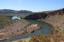 The Pentacost River from one of the scenic drives on ELQ